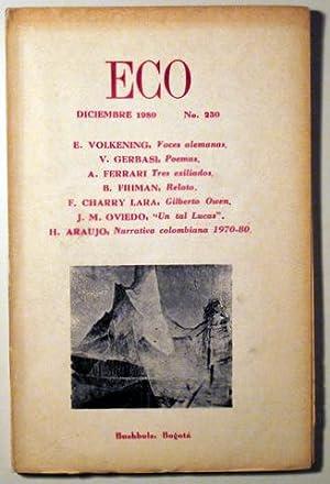 ECO. Revista de la Cultura de Occidente: Revista)