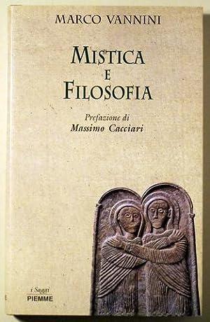 MISTICA E FILOSOFIA - Asti 1996: VANNINI, Marco
