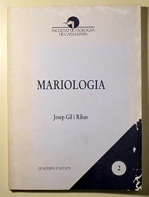 MARIOLOGIA - Barcelona 1995: GIL I RIBAS,