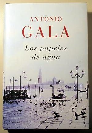 LOS PAPELES DE AGUA - Barcelona 2008: GALA, Antonio