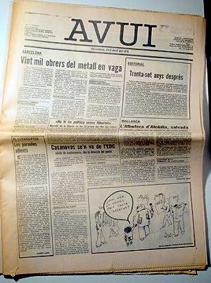 AVUI. Divendres, 24 d'abril del 1976 -