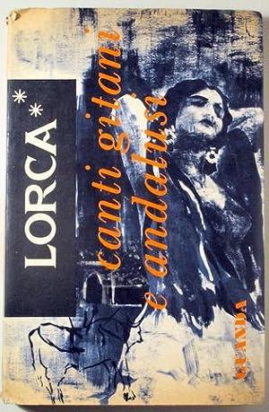 CANTI GITANI E ANDALUSI - Bologna 1959: GARCÍA LORCA, Federico