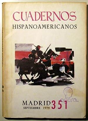CUADERNOS HISPANOAMERICANOS. Núm.351, septiembre de 1979: Jorge Guillén, Quiñones,