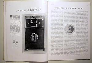 D'ACI I D'ALLA. Maig 1928. Número 125. Vol. XVII: Revista - Noucentisme)