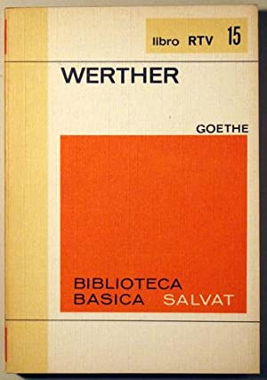 WERTHER: GOETHE - Carmen Bravo Villasante, prólogo