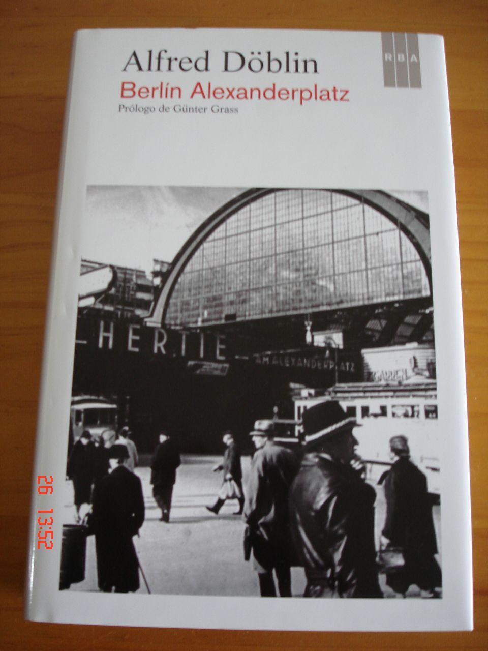 Berlin Alexanderplatz La Historia De Franz Biberkopf De Alfred Doblin Excelente Estado 2014 Libreria Mareiro