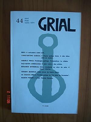 Grial.Revista Galega de Cultura nº 44.: VV.AA.