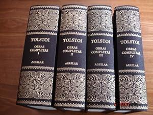 Obras completas (4 tomos; obra completa).: León Nikolaievich Tolstoi.