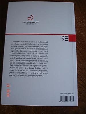 Laberinto de fortuna. de Medardo Fraile.: Ediciones Menoscuarto ...