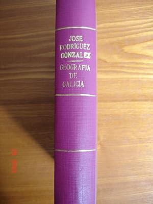 Compendio de geografía especial de Galicia.: José Rodríguez González.