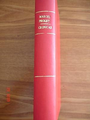 Crónicas.: Marcel Proust.