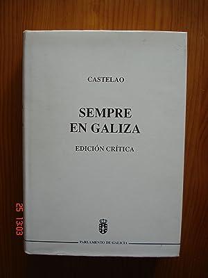 Sempre en Galiza.Edición crítica.: Castelao.