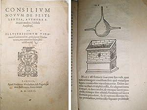 Consilium novum de Pestilentia, Authore P. Droeto medico…: DROET, Pierre.