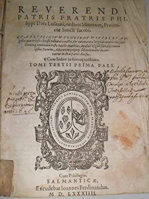 Quadruplicium Concionum super Evangelia, quae in Iesu Christi Salvatoris nostri, & intermeratae...