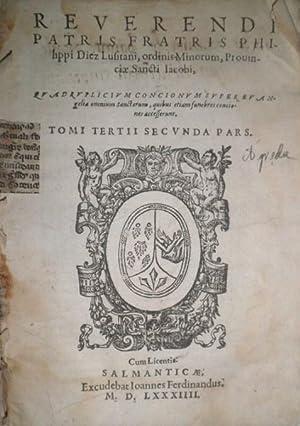 Quadruplicium Concionum super Evangelia Omnium Sanctorum, quibus etiam funeberes conciones ...