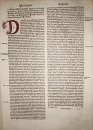 (BIBLIA) TERTIA pars hui operis: continens postilla domini hugonis Cardinales. Super Proverbia, ...