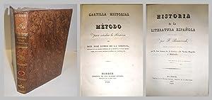 Cartilla historial o método para estudiar la Historia.: GÓMEZ DE LA CORTINA, José.