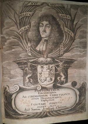Pantometrum Kircherianum, Hoc est, Instrumentum Geometricum novum, a Celeberrimo Viro P. Athanasio ...