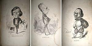 Les binettes contemporaines. Revue par Commerson.: CITROUILLARD, Joseph.