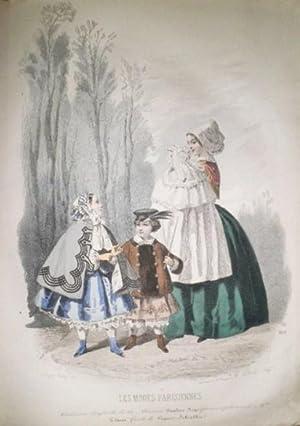 LES MODES Parisiennes illustrées, journal de la bonne compagnie. Fashions, toilettes, ameublements,...