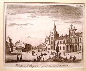 Veduta delle Prigioni de gran Signori a Madrid.: SALMON, Thomas.