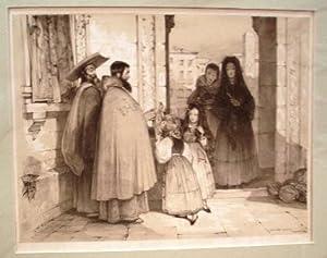 Mendicant Monks.: LEWIS, Jonh Frederick.