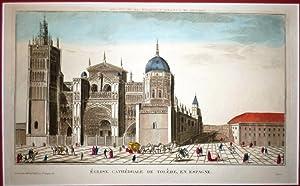 ÉGLISE Cathédrale de Tolède, en Espagne.