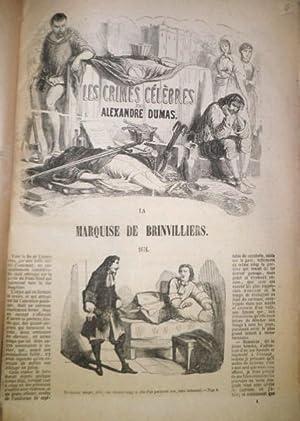 Les Crimes Célèbres. Edition illustrée de vignettes: DUMAS, Alexandre.