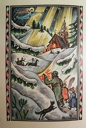 Un Nadal a Polònia. Il'lustrat par T. Miciano.: WINOWSKA, Maria.