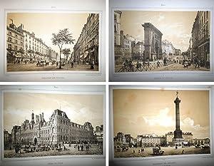 PARIS et ses environs. Grand Album. Représentant les Vues et les Monuments les plus curieux de ...