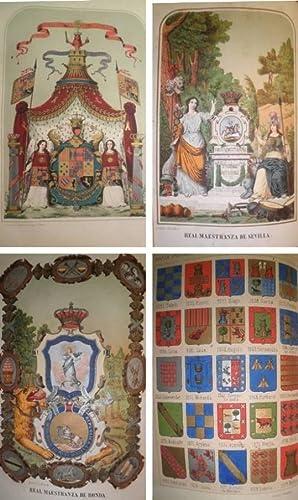 Nobiliario de los Reinos y Señoríos de: PIFERRER, Francisco.