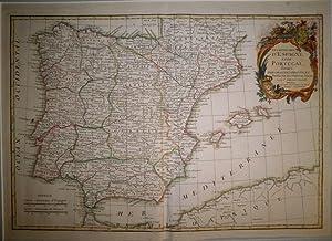 Les Royaumes d'Espagne et de Portugal, divisés par grandes provinces. Dressés sur les Observat....