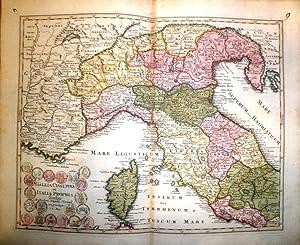 Gallia Cisalpina et Italia Propria.: WEIGEL, Christoph.