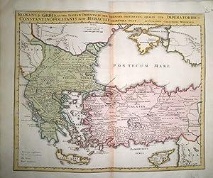 Romanus Orbis ultra Italiam Orientalis per themata distinctus qualis sub Imperatoribus ...