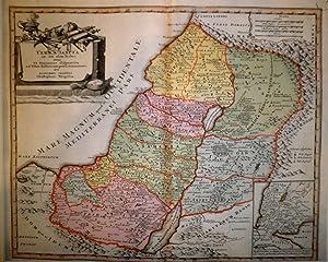 Terra Sancta in XII olim Tribus nunc VI Provincias dispertita ad usum historicum prisci & ...