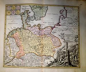 Germaniae Antiquae P. Melae, C. Taciti, C. Plini. Studi C. Weigelii.: WEIGEL, Christoph.