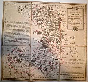 Mapa geográfico del Partido de Carrión.: LÓPEZ, Tomás.
