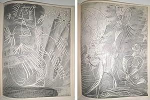 La Chèvre-Feuille. Avec six gravures de Pablo Picasso.: HUGNET, Georges.