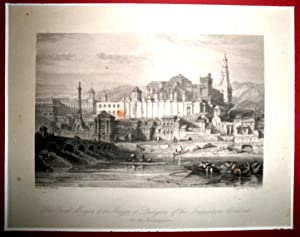 The Great Mosque, & the Alcazar of the Inquisition. Cordova. On the Guadalquivir.: ROBERTS, ...