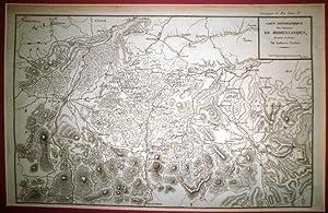 Carte topographique des environs de Hohenlinden.: TARDIEU, Ambroise.