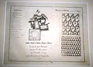 Plan of the Palaces of Charles the fifth, and of the Moorish Kings in the Alhambra.