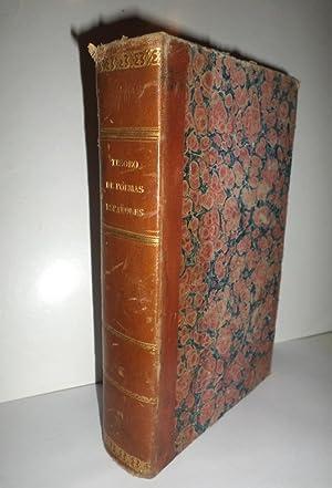 TESORO de los poemas españoles épicos, sagrados y burlescos… Precedido de una introducción en que ...