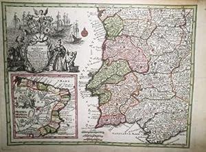 Portugalliae et Algarbiae Regna… Mappa Brasiliae Regn. in America Merid.: SEUTTER, M.