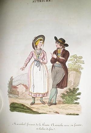 AUTRICHE. (L Autriche ou coutumes, moeurs et usages des Autrichiens, par Jean Baptiste Benoit).