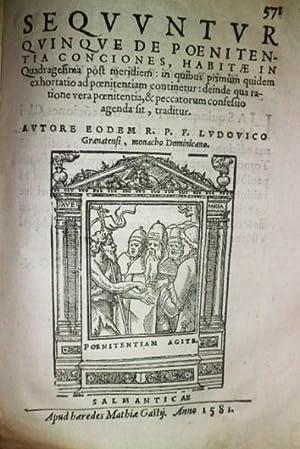 Primus Tomus Concionum de Tempore, Quae à prima Dominica Adventus usque ad Quadragesimae initium in...