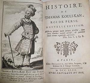 Histoire de Thamas Kouli-Kan, Roi de Perse. Nouvelle edition.: CERCEAU,Jean-Antoine de.
