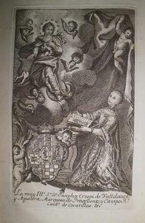 Letanía Lauretana de la Virgen Santíssima, expressada en cincuenta y ocho estampas e ilustrada con ...