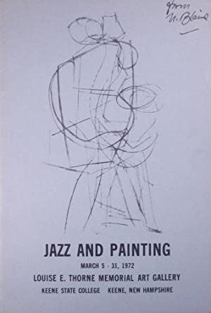 Jazz and painting. March 5-31, 1972. Corrected proof copy. SALE PRICE through December 31, 2019