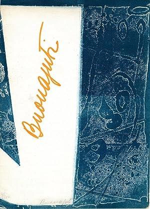 Pitture e acqueforti a colori di Buonajuti.: Buonajuti, Linda. Duchamp,