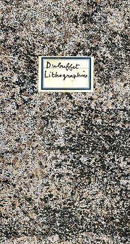 Jean Dubuffet: lithographies; série des phénomènes: Dubuffet, Jean. Berggruen